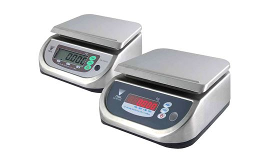 DS-673SS and DS-676SS are compact and solid control scales