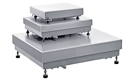 Scanvaegt Serie 1200 Bench scale are in stainless steel and specially designed for use in the industry.