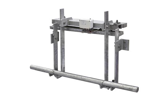Scanvaegt overhead track scale series 4200 is designed specifically for use in abattoirs for weighing products hanging from a track.