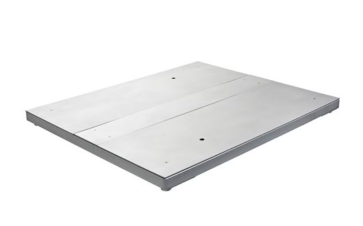 The Scanvaegt 3800 floor scales are made of stainless steel and with weighing capacities of up to 3,000 kg
