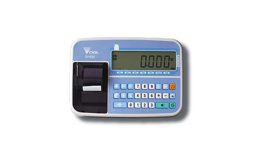 The Digi DI-620 is a complete and userfriendly weight indicator.