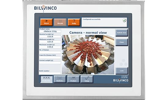Bilwinco Compact Revolution Mulitihead weigher sørger for high-speed afvejning med uovertruffen nøjagtighed.