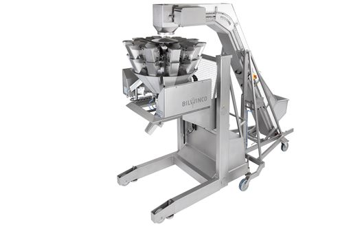 Bilwinco Mobile Multihead Weigher is designed for versatile and flexible weighing and packaging processes.