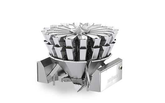 Bilwinco Revolution Multihead Weighers can be set to move any product carefully and efficiently.