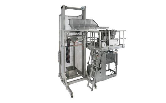 Bilwinco Mobile Multihead Weigher - The systems mobility is highly connected with optimal hygiene.