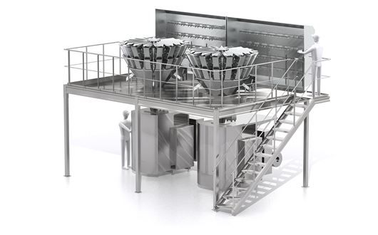 Bilwinco Revolution Multihead Weighers is the most hygienic multihead weigher available today