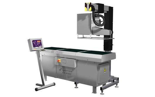Espera ES6000 is an automatic weighing and labelling systems, which can handle products weighing up to 30 or 80 kg.