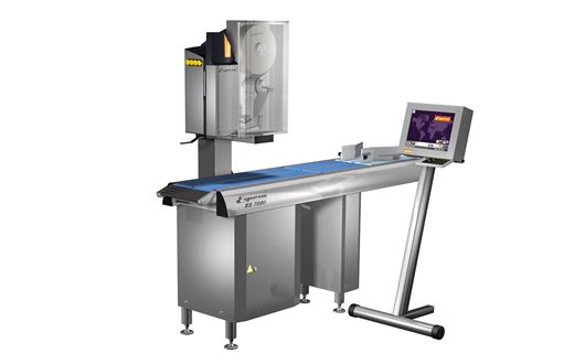 The Espera ES7001 system weighs and labels up to 120 products per minute with max precision.