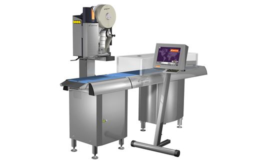 Espera ES8000-series is a high-speed weight-/price labelling systems, capable of applying labels on the topside and/or underside of the product.