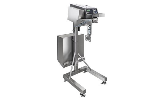 The Scanvaegt SVA90 is a sturdy and efficient box labelling applicator for automatical application of labels on boxes.