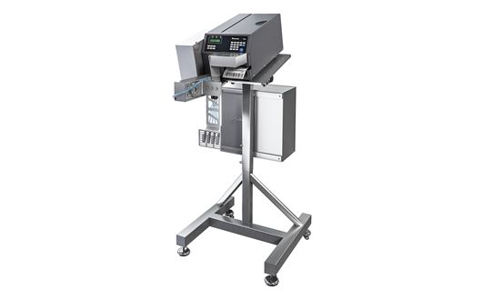 The Scanvaegt SVA180 is a sturdy and efficient box labelling applicator for automatical application of labels on boxes.