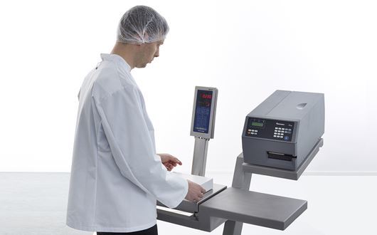Scanvaegt MPe System represents an efficient solution for manual e-weighing control of packed products.