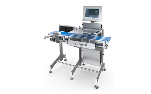 Scanvaegt ProCheck SC500 checkweigher represents an efficient solution for weight control, sorting,