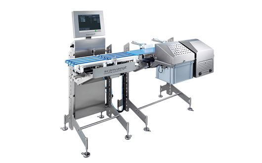 Scanvaegt ProCheck SC500 checkweigher represents an efficient solution for e-weighing, metal-detection and data capture.