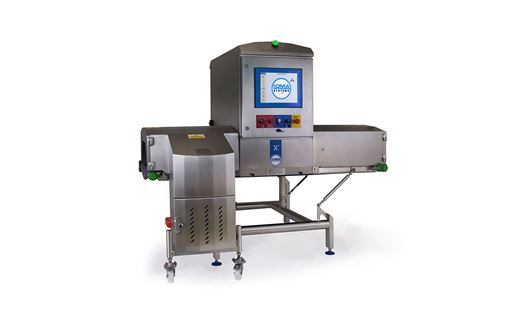 Loma X5 Pack System detects glass, bone, plastics and other contamination in packaged products.