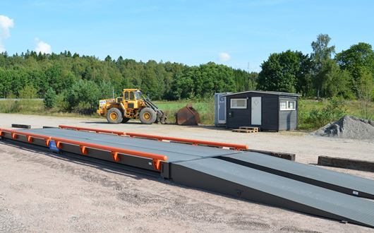 Scanvaegt 5700 Weighbridge is designed to withstand the harsh conditions.
