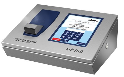 Scanvaegt VT150 is a powerful and reliable computer for data management and communication.