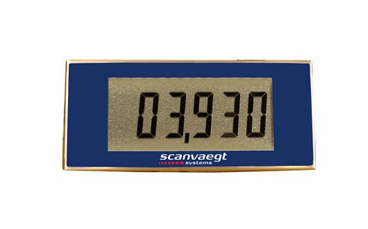 Scanvaegt RD45 remote display ensures easy and correct reading of the weight result at far distances.