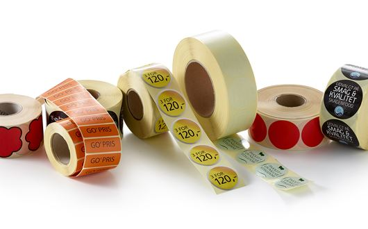 Scanvaegt Profile Labels create a clear visual attraction for your products and get your message across.
