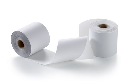 We can supply different types of receipt rolls, standard rolls, self-adhesive rolls and Linerless rolls.