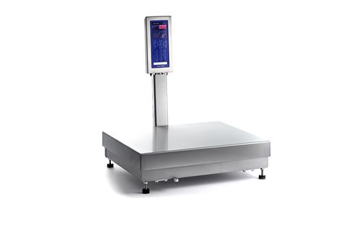 The Scanvaegt SV10 weight indicator handles various weighing and packing jobs