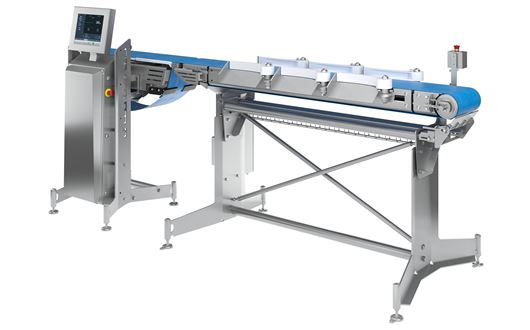 Scanvaegt's SP520 Compact Sizer is the ideal solution for weight-sizing jobs