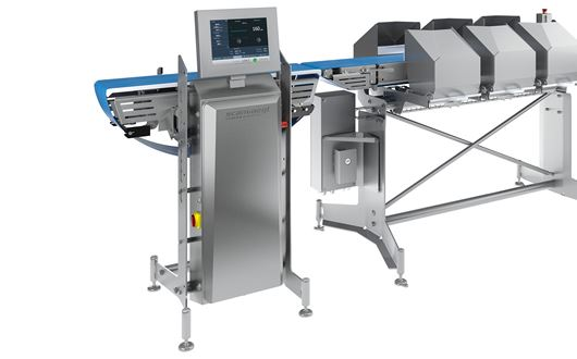 Scanvaegt SP520 Compact Sizer + is a fast, accurate and robust sizing solution