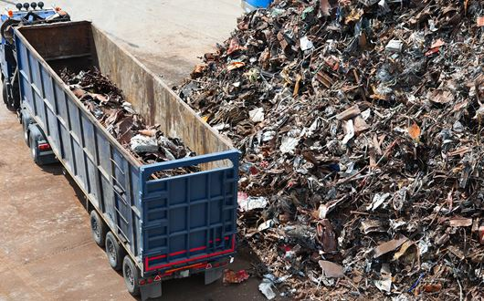 Solutions for the recycling industry system for efficient weighing and registration of scrap, iron, waste metals.