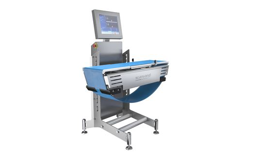 Scanvaegt SC520 inline Process Checkweigher weighs and controls all products using sharp precision and high-speed