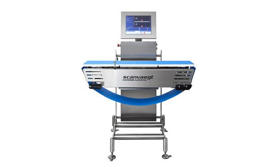 Scanvaegt SC520 Process Checkweigher er den ultra-robuste system for intern sjekkveiing