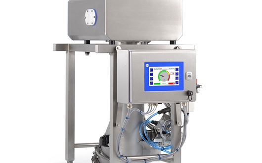 The Loma IQ4 Vertical Fall is a gravity fed / throat metal detector system designed for inspecting bulk, powders and granules