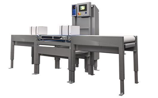 Scanvaegt Automatic Box Weigher - Automatic weighing of boxes and bulk products