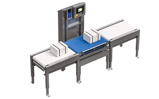 Scanvaegt Automatic Box Weigher with speeds of up to 25 items per minute
