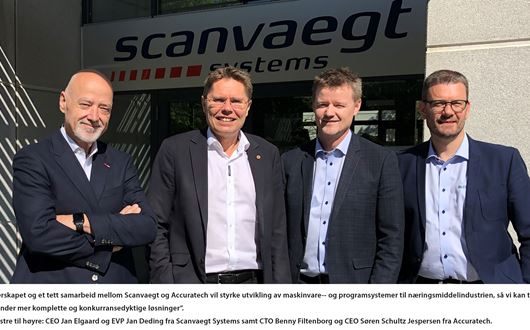 Scanvaegt Systems inngår partnerskap med Accuratech