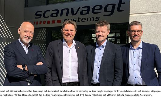 Scanvaegt Systems ingår partnerskap med Accuratech