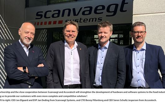 Scanvaegt Systems enters into partnership with Accuratech