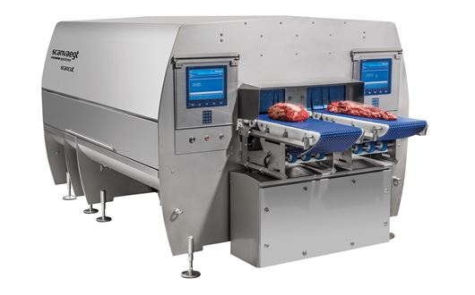 The highest possible throughput on the smallest possible footprint can be reached with the ScanCut 3D.